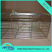 Collapsible Live wire mesh metal mouse rat animal trap