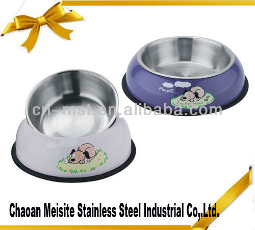 stainless steel Dog bowl with defferent sizes