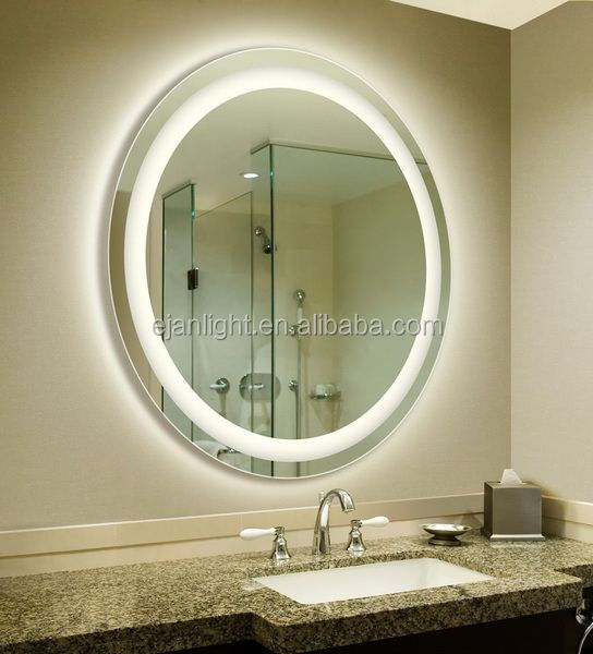 Manufactures 5mm Environmental Rround Modern Luxury Hair Salon Led Mirror Light