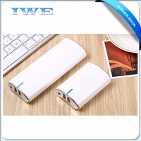 2016 cheap dual usb portable charger mobile phone custom logo printed portable power bank 5000 20000 mah