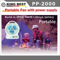 KING BEST Factory directly supply Portable Fan table fan stock Lithium battery with a USB charging cable portable mini fan