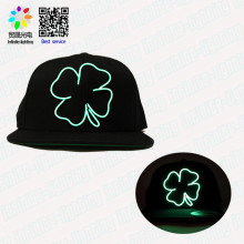 Luminous Muliti-color Luminescent EL Wire Led Flashing Lighted Hats And Caps