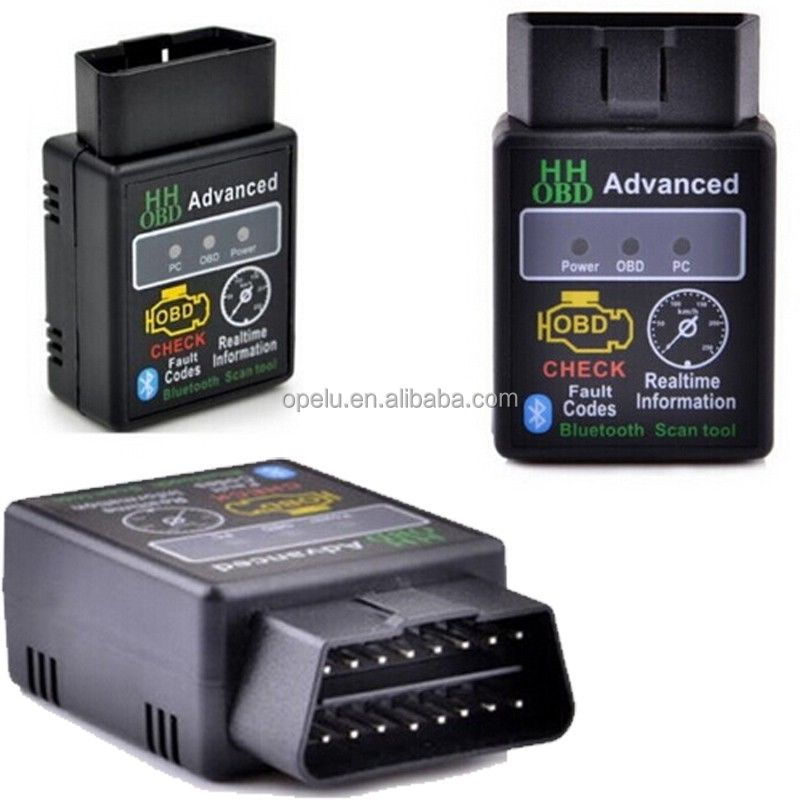 Super HH OBD Mini ELM327 Bluetooth ELM 327 V2.1 OBD2 Used Car Diagnostic Scanner