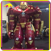 KANO3735 Outdoor Playground Highly Detailed Interactive Iron Man Life Size Figure