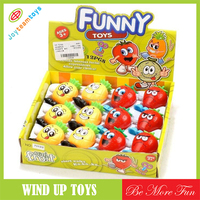 Cheap wind up toys fashion baby fruit toys