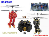 REMOTE CONTROL 2.5 CHANNEL RC BATTLE ROBOT HELICOPTER WITH GYRO (VS)