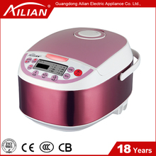 Electric Multifunction Cooker With Measuring Cup , Spoon , Two side Non - Stick Coating Inner Pot ,Steamer Accessories