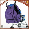 DM0069 New Designed Superior Quality Purple Mummy Diaper Bag Backpack Baby Nappy Backpack Organizer