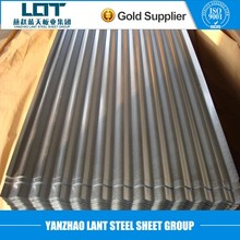 Corrugated Metal galvanized steel sheet for roofing with price