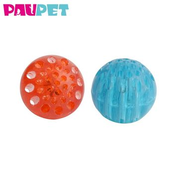Pet For Dogs Led Glow Ball Chew Durable Tpr Dog Toy Balls