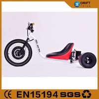 Pedal Assited Electric Recumbent Trike