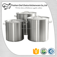 Steamer Pot Stock Pot Range Large Size Sandwich Bottom Chicken Pot Suitable For Electric Induction Cooker Resturant Kitchenware