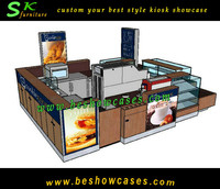 12X10feet customize build factory price coffee kiosk for sale coffee kiosk design