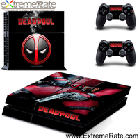New coming game accessories console skin and controller skin sticker for PS4 vinyl decal GYTM0288