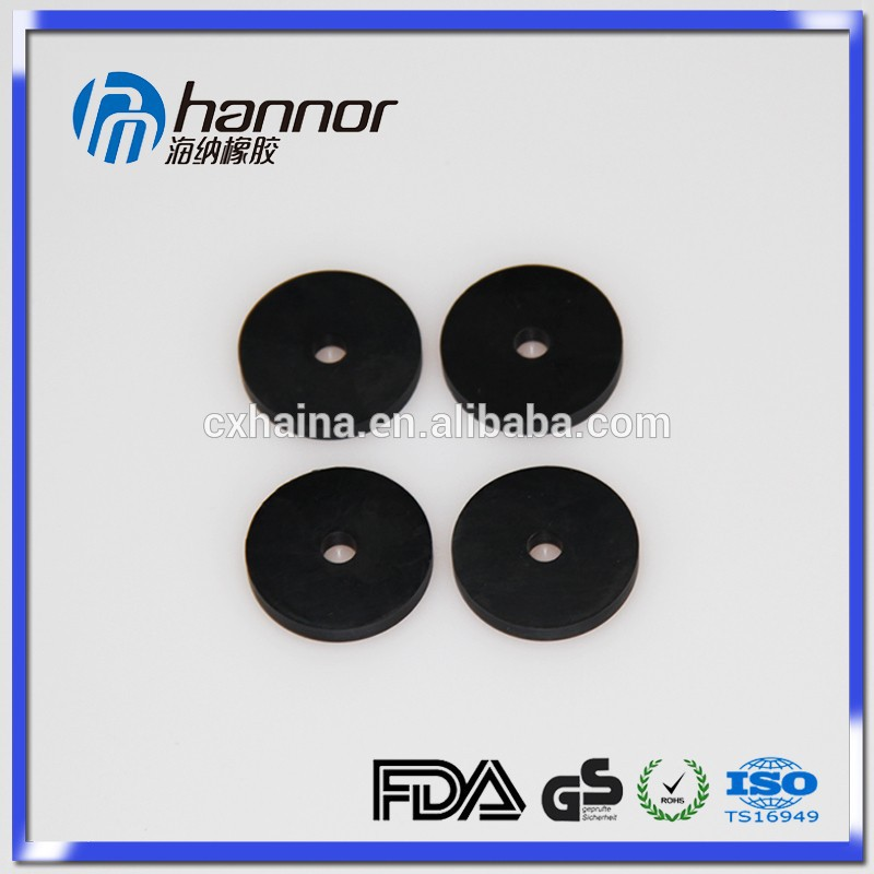 Hannor Molded Round Rubber Flat Gasket In Various Material From China