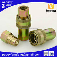 brass nipple coupling gas brass quick connect straight male tube pneumatic fitting bottom price hydraulic quick connector