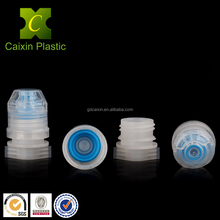 Silicone spout lid for plastic water drinking bottle