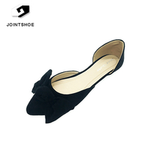 Fashionable and comfortable new design flat ladies shoes for wholesale