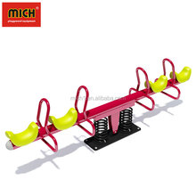High Quality Metal Double Outdoor Playground Rocker Seesaw