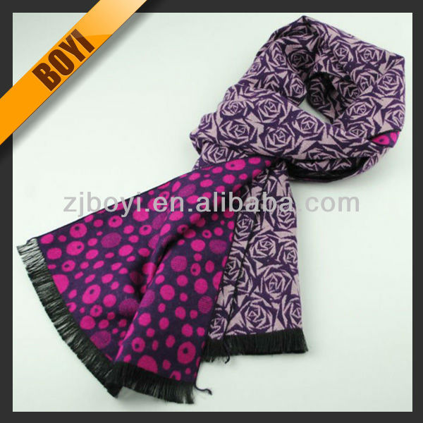 Woven Viscose Fashion Knit Scarf For Wholesale
