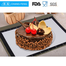 Private Label custom size 3 piece non-stick silicone baking mat
