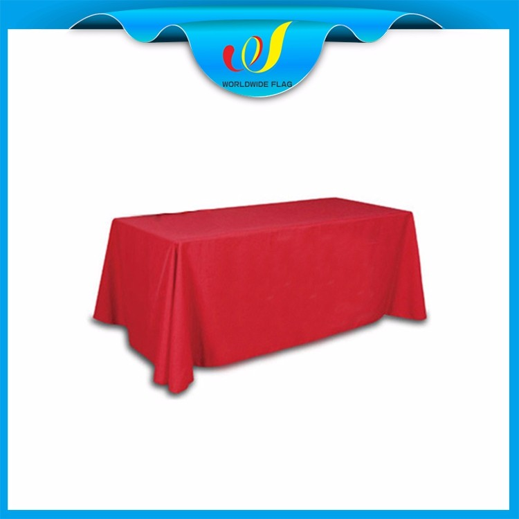 Wholesale Trade Show Event Advertising High Quality Tablecloth