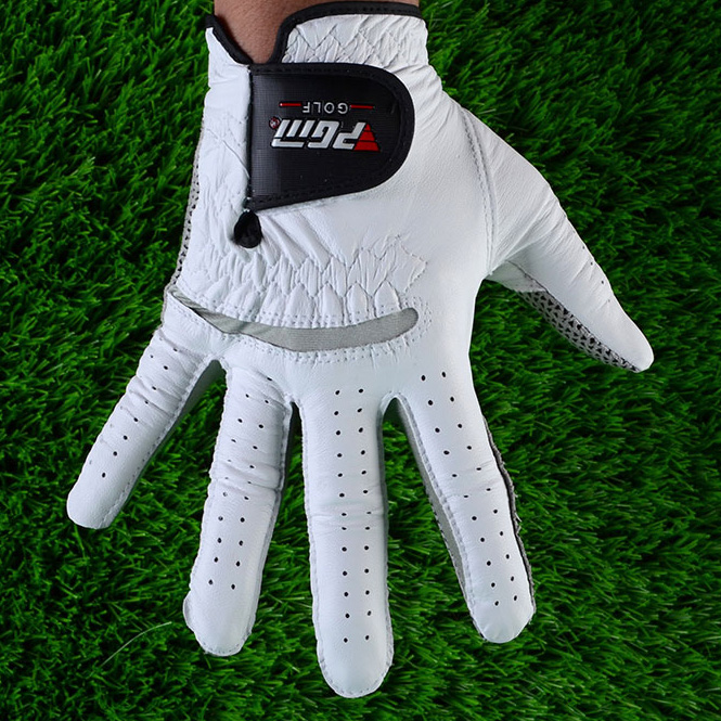 cabretta leather Sheep Skin anti-slip Golf Glove