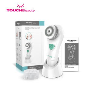 TOUCHBeauty Deep skin cleaning electric waterproof face wash cleaner brush facial cleansing brush