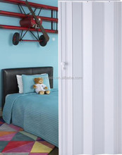 Room divider rail pvc wall panel plastic accordion door