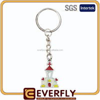 2015 new design compass keychain, embroidery keychain, blank key chains wholesale