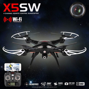 New Arrival Syma X5SW FPV wifi drone with HD Camera RC Quadcopter aerial photography helicopter