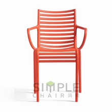 plastic stacking chair for outdoor use/replica chair