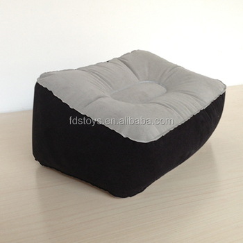 inflatable pillow inflatable cushion Flock pvc inflatable foot cushion