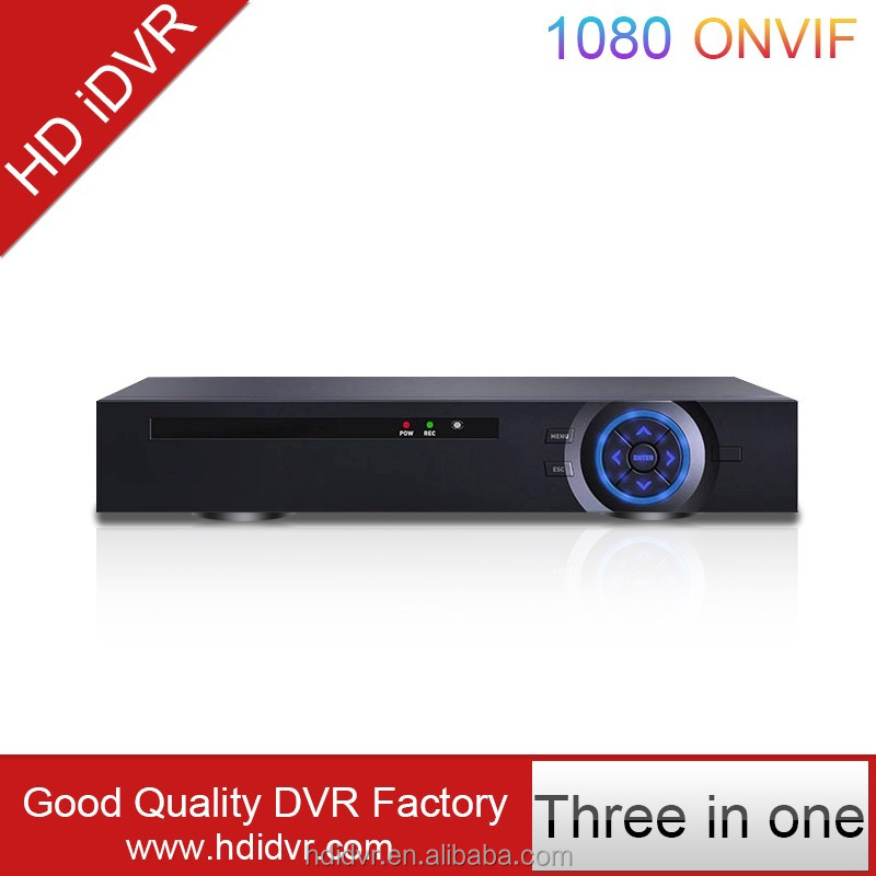 real time 1080P ahd dvr 4ch xiongmai software xmeye economical hybrid ahd/dvr/nvr