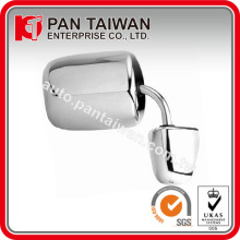 "UNIVERSAL TYPE TRUCK & VAN CAR MIRROR, R=L, 6 5/8"" X 9 1/2"" or 6 3/4"" X 8 3/4"", CHROME ABS/STAINLESS STEEL"