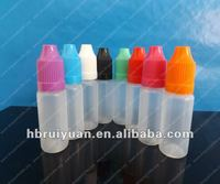 Hot! e liquid/e-cigarette plastic medicine container 10ml