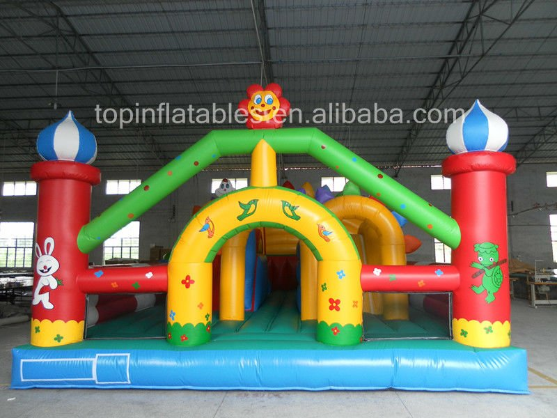 Inflatable fun city /fun city games for kids