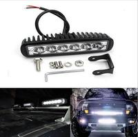 18W Spot LED Work Light Car Truck Boat Driving Fog Offroad SUV 4WD Bar