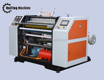Cash register paper medecial report paper thermal paper roll slitting rewinding machine