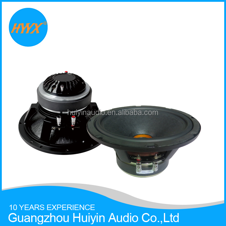 10 inch HiFi coaxial speaker/ High efficiency home audio speaker 300WRMS