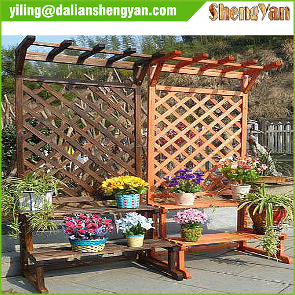 Modern Wooden Decorative Garden Wooden Pergola