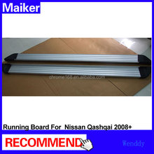 Aluminium alloy running boards for Nissan QASHQAI 2008+ Side step bar from Maiker