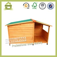 SDD09 PS Outdoor Wooden Dog House Dog Kennel