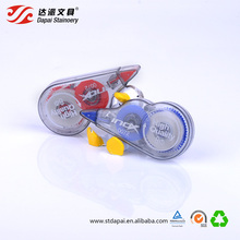 Custom Assorted Color Side Application White Out Correction Tape For School Students