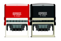 Newest Epress office use date stamp&custom rubber self-inking stamp