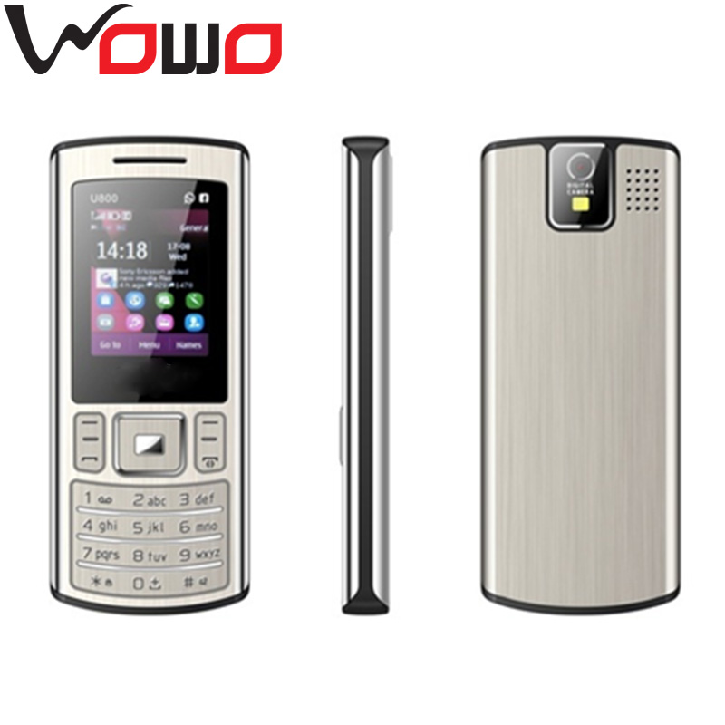 new products 1.8 inch very small dual sim mobile phone and telephone celular U800