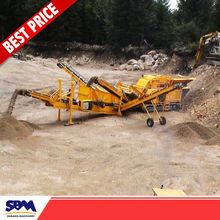 Building construction equipment machine for crushing stone, roller rock crusher
