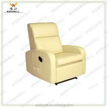 WorkWell most popular pu leather luxury recliner sofa Kw-Fu32