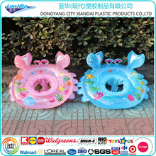 2017 hot sales newest factory cheap swim seat float/pool swimming ring/customized colorful inflatable pool floating swim ring