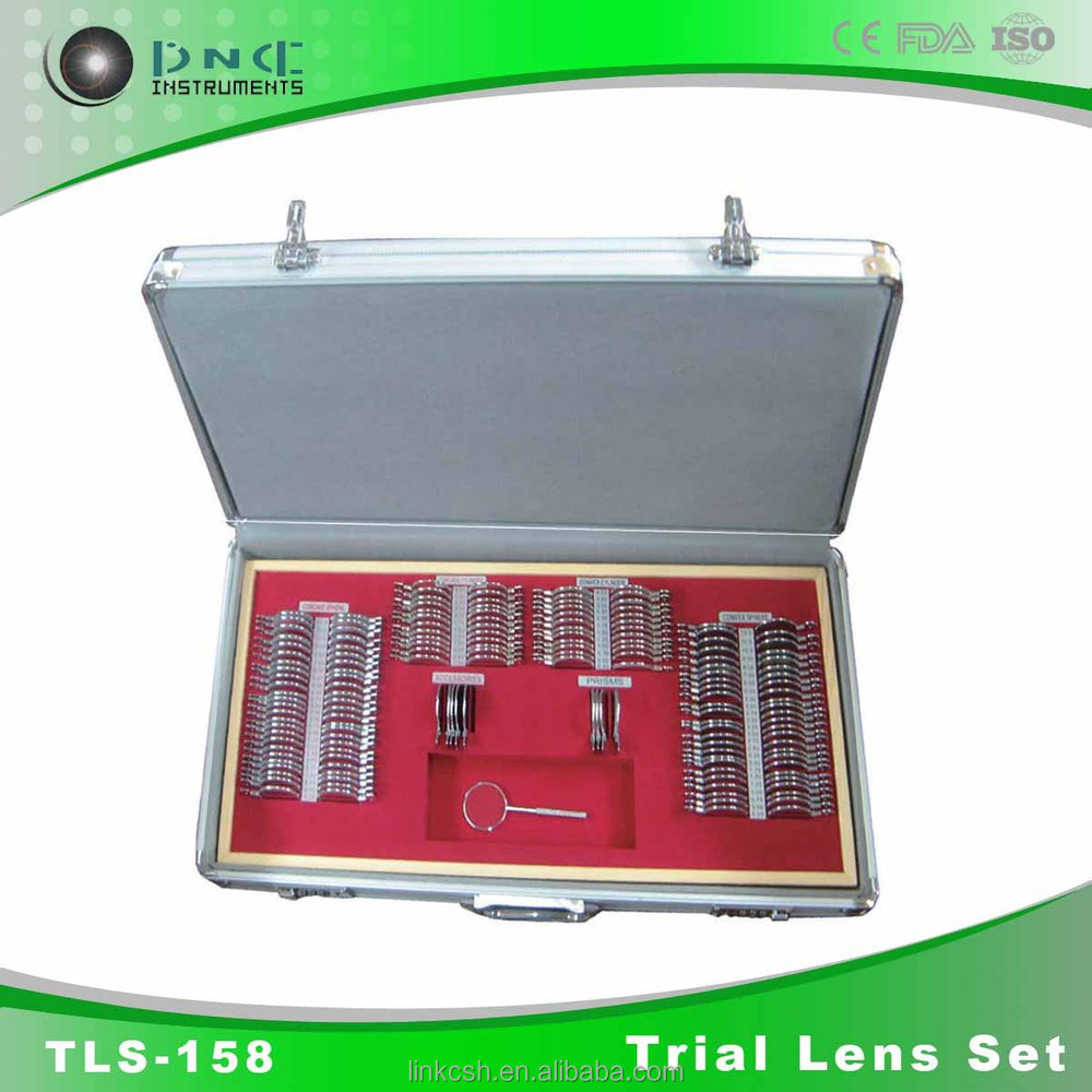 Optometry Equipment TLS-158 trial lens set